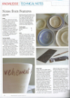 Ceramic Review Carys Davies Text article